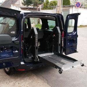 Nakladacia plošina pre elektrický vozík