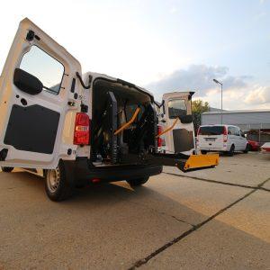 Elektrohydraulická plošina je pre vozičkára Citroen Jumpy