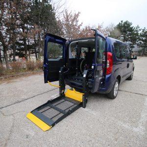Elektrohydraulická plošina pre vozičkárov