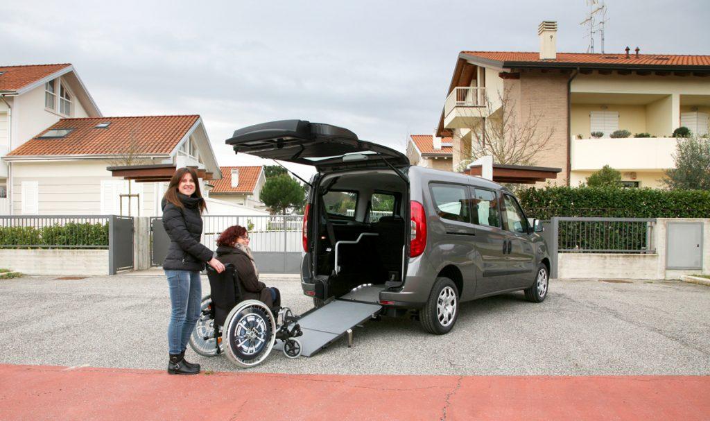 Bezbariérové vozidlo pre vozičkára Fiat Doblo
