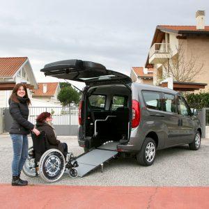 Bezbarierové vozidlo pre vozičkára Fiat Doblo