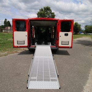 Mechanická rampa pre vozičkára | Fiat Ducato | Auto pre invalidov