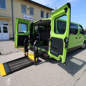 Opel Vivaro 2017, Elektro Hydraulická Plošina 2