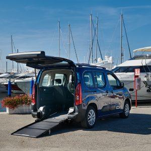 Bezbariérové auto pre vozičkárov - Opel Combo